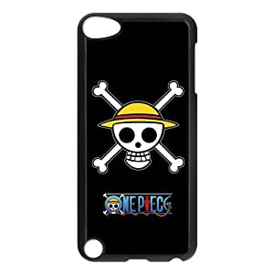 Anime One Piece Coque IPod Touch 5/5th Generation-Silicone gel plastique transparent haute densité-Coque Housse Etui pour Apple IPod Touch 5/5th Generation