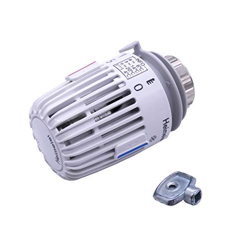 IMI Heimeier Thermostat-Kopf 7000-00.500 mit Nullstellung mit gratis Heizkörper-Entlüftungsschlüssel by kör4u (1)