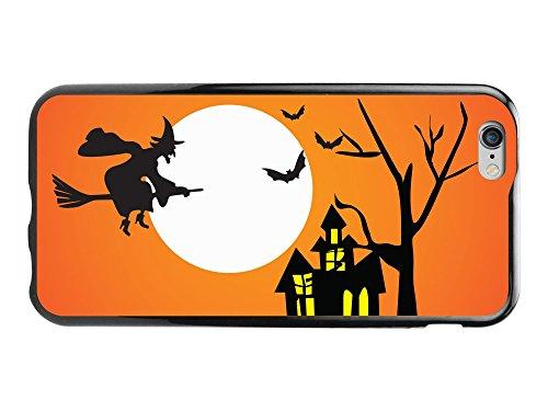 Cellet Proguard Schutzhülle für iPhone 6, ohne Einzelhandelsverpackung, Halloween Fliegende Hexe/transparent, farblos