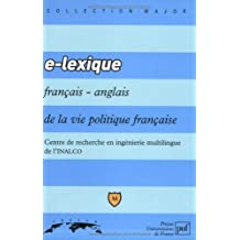 E - Lexique français/anglais de la vie politique française