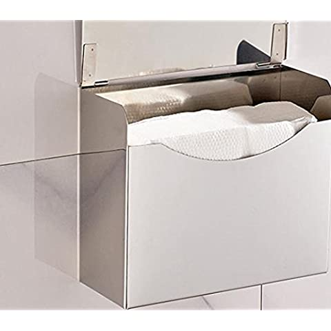BLYC- Carta/alluminio spazio toilette impermeabile/asciugamano rack/vassoio