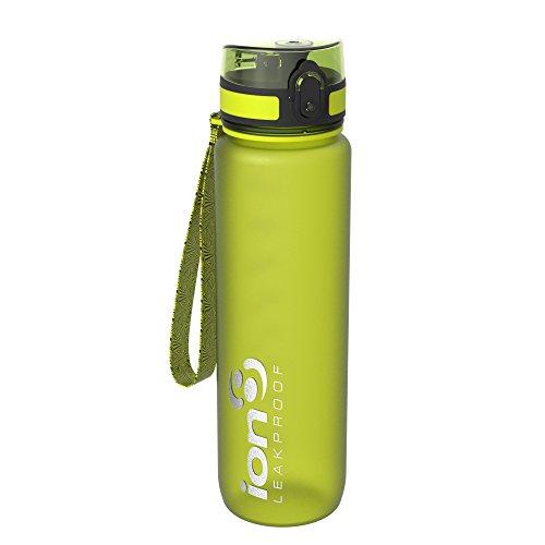 Ion8 auslaufsicher Fitness & Outdoor Wasserflasche / Trinkflasche, BPA-frei, 1000ml / 32oz