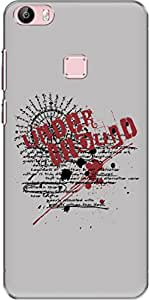 The Racoon Lean printed designer hard back mobile phone case cover for Vivo X Play 5 / Vivo X Play 5 Elite. (Undergroun)