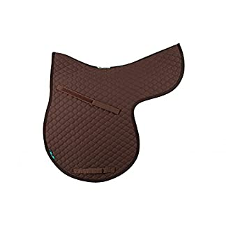 Griffin NuuMed HiWither Everyday Quilted GP Numnah Large Brown 7