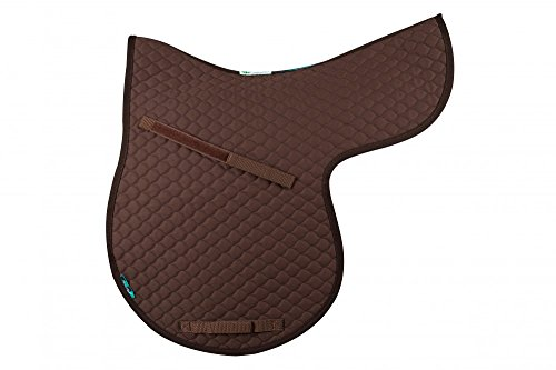 Griffin NuuMed HiWither Everyday Quilted GP Numnah Large Brown 1