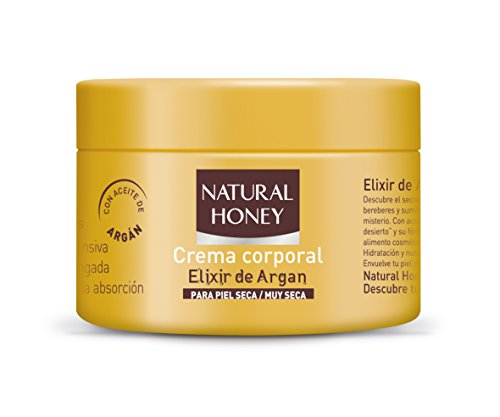 NATURAL HONEY - ELIXIR DE ARGAN crema corporal 250 ml-unisex