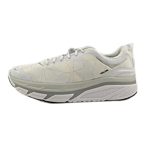 Hoka One One Valor Synthétique Chaussure de Course white
