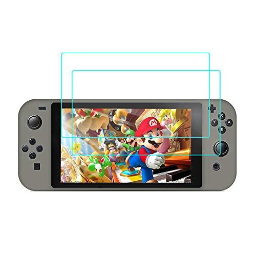 Preisvergleich Produktbild RLTech Nintendo Switch Mini Panzerglas,  [9H Härte] [2, 5D Runde Kanten] [Anti-Kratzer] gehärtetes Glas Display Schutzfolie für Nintendo Switch Mini,  2PCS