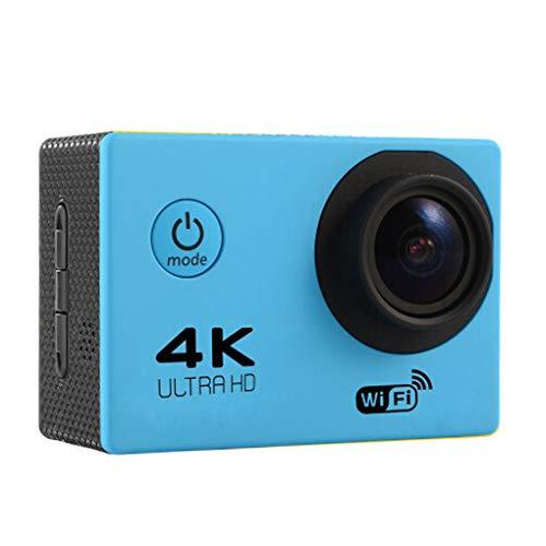 YILONG HD 4K WiFi-Action-Kamera 170D Weitwinkel Sport DV 30M wasserdicht Sport-Video-Fahrrad-Sturzhelm-Nocken Mini-DVR