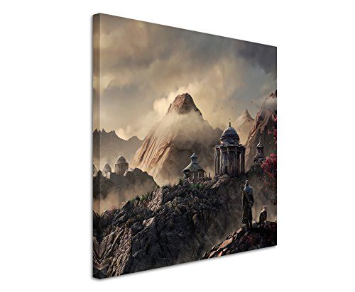 aegon-fantasy-art-60-x-60-cm-canvas-picture-art-print-as-schoener-on-real-canvas-as-a-wall-picture-o