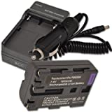 NEW Battery + Charger for Sony Alpha NP-...