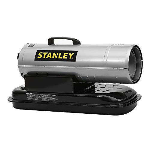 Stanley 70,000 BTU Diesel Forced Air Heater, Adjustable Thermostat Control, Overheat Protection, Work better, Smarter, and Faster Heaters ST-70T-KFA-E (UK Plug)