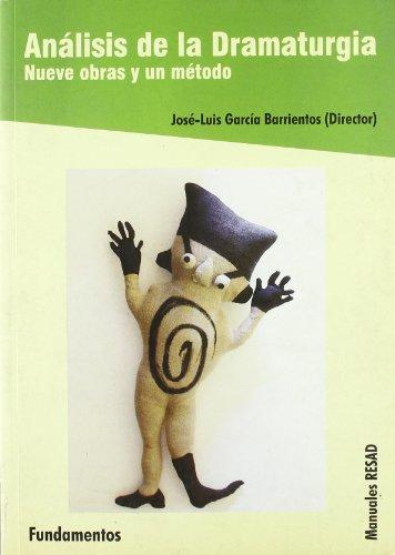 Análisis de la dramaturgia (Arte / Teoria teatral)