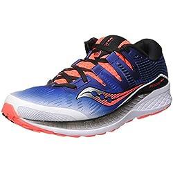 Saucony Ride ISO, Zapatillas de Running para Hombre, Blanco (White/Blue/Vizired 35), 42.5 EU