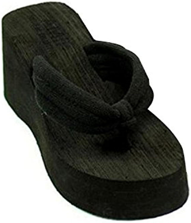 la plate - forme minetom été mesdames été minetom coin beach tong des sandales à talons. 7dc6e1