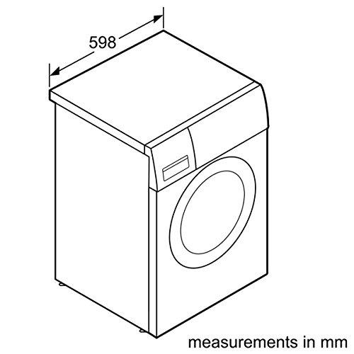 Siemens iQ300 WM14N2A0 Waschmaschine Frontlader / A+++ / 157 kWh/Jahr / 1390 UpM / 7 kg / Weiß / Großes Display mit Endezeitvorwahl / WaterPerfect - 4