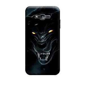 CaseLite Premium Printed Mobile Back Case Cover With Full protection For Samsung J2 (Designer Case)