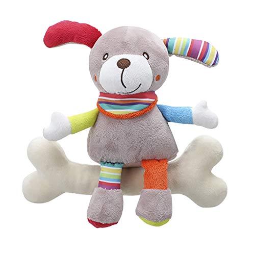 Pottoa Kinder Baby Plüschtier - Spiral Bedstroller Tiermodellierung Pädagogisches Spielzeug - Cartoons Spielzeug Kleinkinder - Geschenk Kind Baby (D)