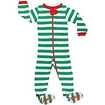 Elowel - Pijama para Bebe nisexo Ninos Ninas, (Talla 6 m-5 Anos