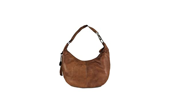 c895fc41d1 Belstaff Symone Burnt Brown Leather Bag OS  Amazon.co.uk  Clothing