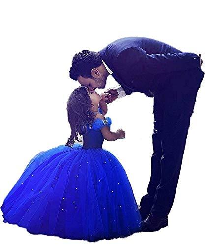 Cinderella Braut Kleid - CDE Kinder Aschenputtel Prinzessin Kleid mit