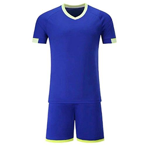 Aiweijia Fußball Jerseys Männer Fußball Trikots Fußball Uniformen Jugend Erwachsene Fußball Set Sportbekleidung