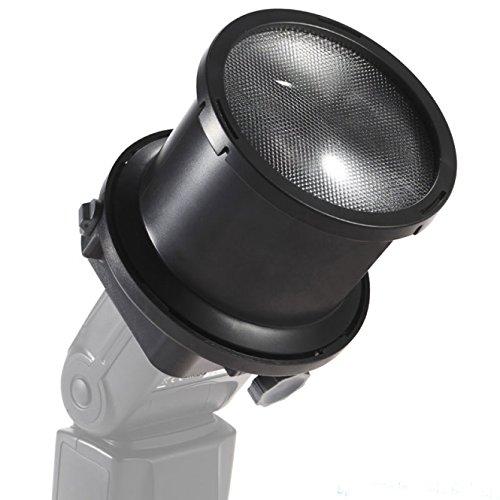 METTLE 2-fach FRESNEL SNOOT für Systemblitz mit Universaladapter