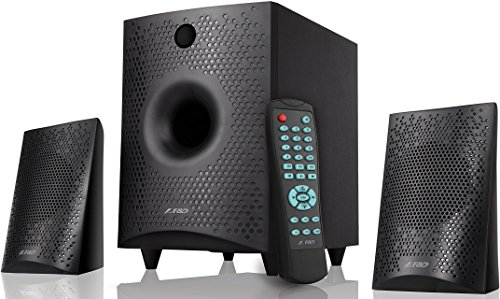 FD F210X 2.1 Channel Multimedia Bluetooth Speakers (Black)