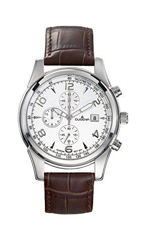 Dugena Sport Gents Watch Quartz Watch With Leather Strap  4460349