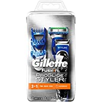 Gillette by Braun Fusión Proglide Styler - Cortapelo-barbero, 3 en 1, recortar - perfilar - afeitar