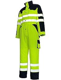 "Mascot 00921-660-171-S Size Small""Riva"" Boiler Suit - Yellow/Marine Blue"