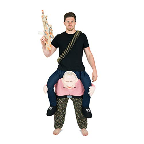 Bodysocks® Vladimir Putin Huckepack (Carry Me) Kostüm für Erwachsene