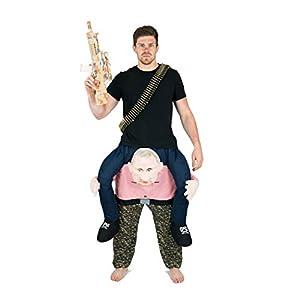 Bodysocks® Disfraz a Hombros (Carry Me) de Vladimir Putin para Adulto