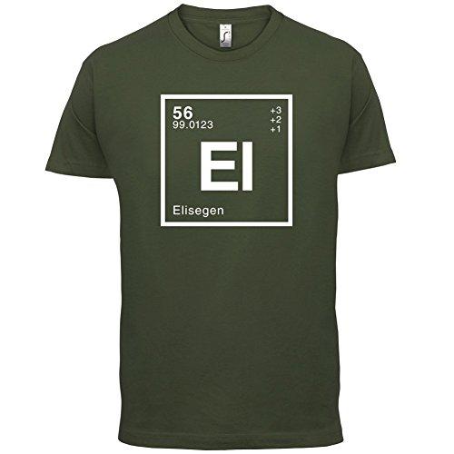 Elise Periodensystem - Herren T-Shirt - 13 Farben Olivgrün