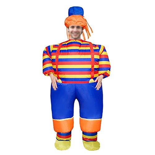 OOFAY Clown Inflatables, Bühnenkostüme Für Erwachsene, Aufblasbare Requisiten, Für Festivalpartys - Flecken Clown Kostüm