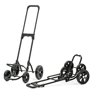 Andersen Shopping trolley frame Quattro | With four wheels | Stepless adjustment of the handle to max. 117 cm | Max. load capacity: 50 kg | Made in Germany
