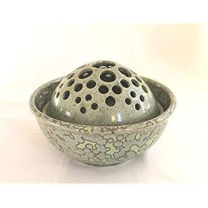 Steckschale Blumenschale Keramik Handarbeit