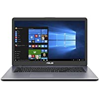 "Asus Vivobook R702UA-BX647T PC portable 17"" Gris Clair (Intel Pentium, 4 Go de RAM, 1 to + SSD 128, Windows 10) Clavier AZERTY Français"