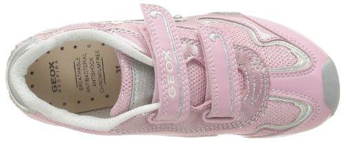 Geox Jr New Jocker Girl B, Sneaker Bambina Rosa (Pink/Pink)