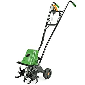 Andrew James Electric Cultivator / Tiller, 1000 Watt Motor, 10 Metre Cable with 2 Year Warranty