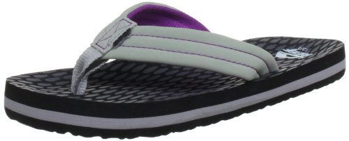 Reef AHI Kids Junior Flip Flops Sandals (C2/3, GPH Grey/Purple/Fish)