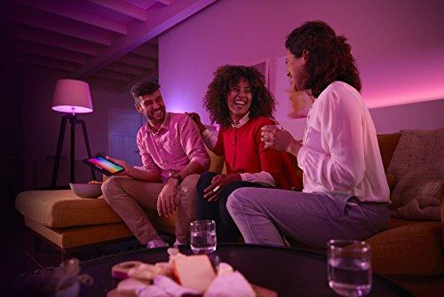 Philips Hue White and Color Ambiance - Lightstrip Plus (2 metros iluminación inteligente - tiras que cambian de color, compatible con Apple Homekit y Google Home)