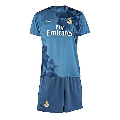 Kit Real Madrid Oficial Tercera Equipación (Camiseta y Pantalón) Dorsal Ronaldo 7 (4 años)