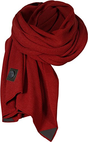 Musterbrand-Assassins-Creed-Strick-Schal-Hansom-Super-Weich-Merino-Wolle-Rot