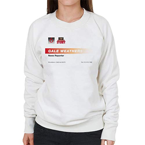 Gale Weathers News Reporter Business Card Women's Sweatshirt ()