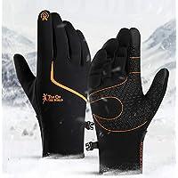 CXW Winter Cycling Gloves, Waterproof Touch Screen Warm Gloves for Men & Women