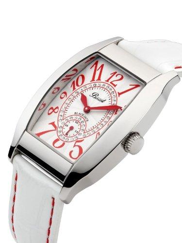 Bossart Watch Co. Black Jack TS3108 Elegante Damenuhr Mit Kristallsteinen -
