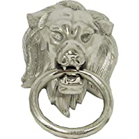 Diga Colmore Venlo B.V. Door Knocker Towel Ring Lion Head with Ring Aluminium Rough