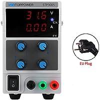 skytoppower stp3005alimentación DC régulée gráfico ajustable de 3dígitos entrada de la fuente de alimentación 110/220V 0–30V 0–5A (EU)