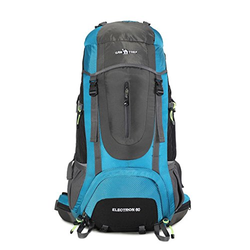 Bergsteigen Tasche Wanderrucksack Outdoor-Sport-Rucksack Camping Blau